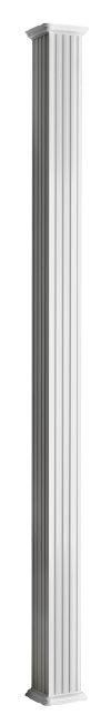 Mod le colonne carr e colonial elegance - Colonne aluminium prix ...
